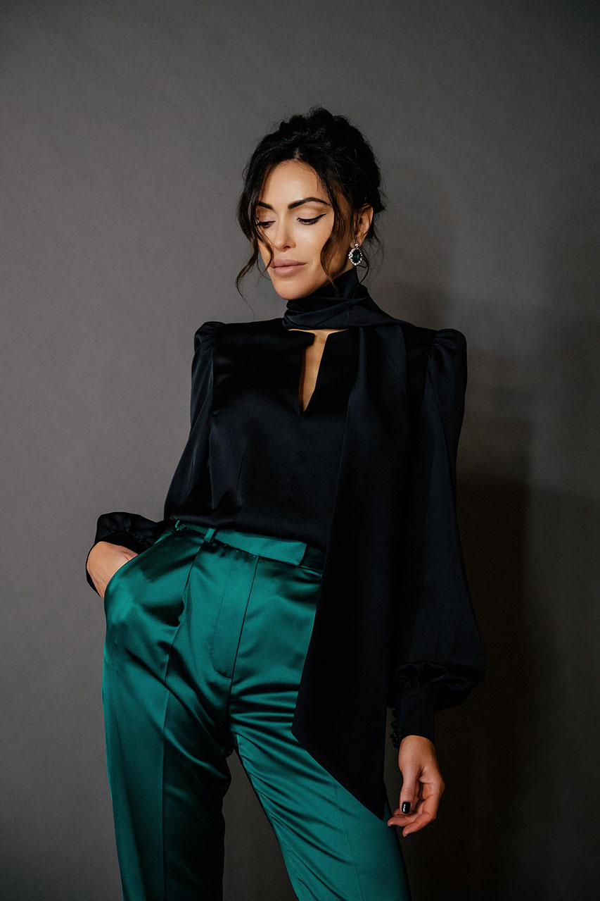 womens-satin-suit-costumes-green